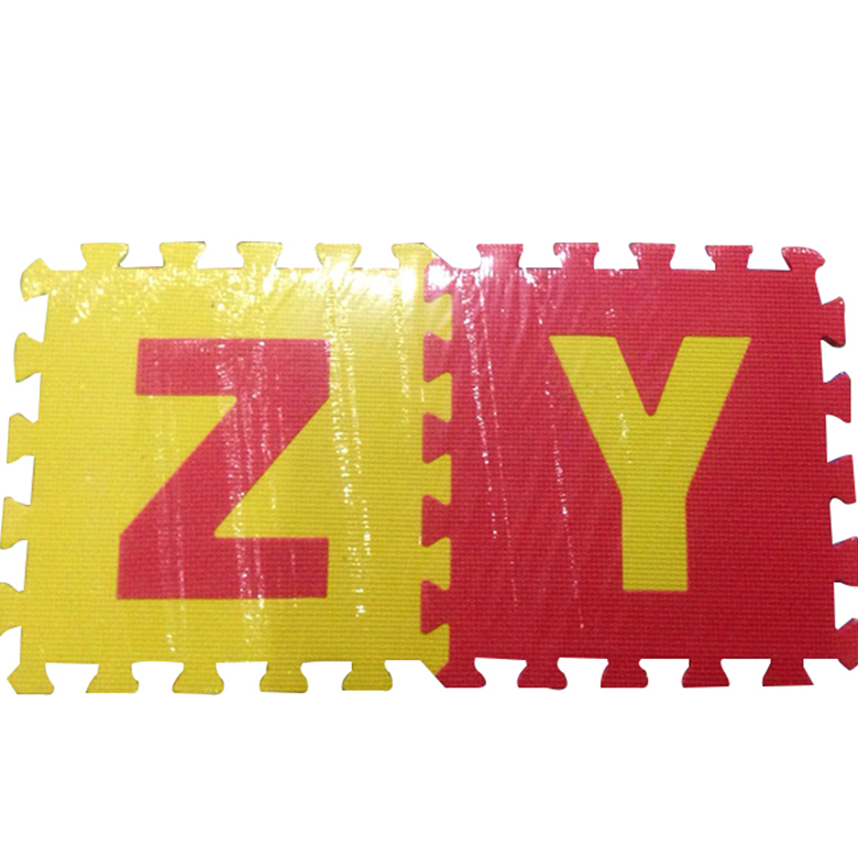 Sports Toy Style and eco EVA Material kids outdoor foam play mats
