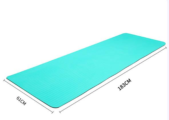 Double layer  eco friendly TPE durable gym yoga mat