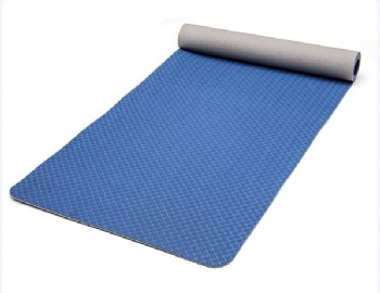 Eco-friendly TPE  exercise light weight yoga mat with carrying strap