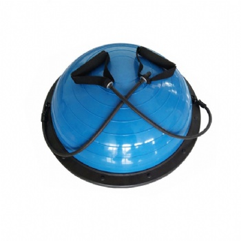Half Yoga Balance Ball Trainer with Ropes and Hand Pump