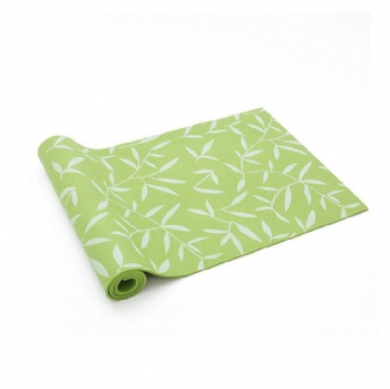PVC eco friendly printing yoga mat with customer's logo