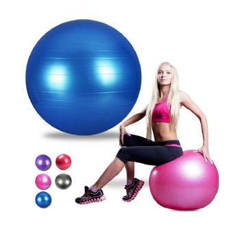 Yoga Exercises Usage and 65 Size Exercises ball