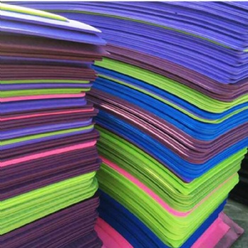 Paper Material and China Regional Feature color EVA foam sheet