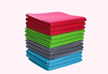 Sport eco friendly gym home portable tpe yoga mat foldable yoga mat