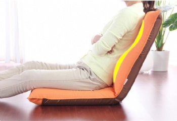 Adjustable comfortable floor folding meditation chair